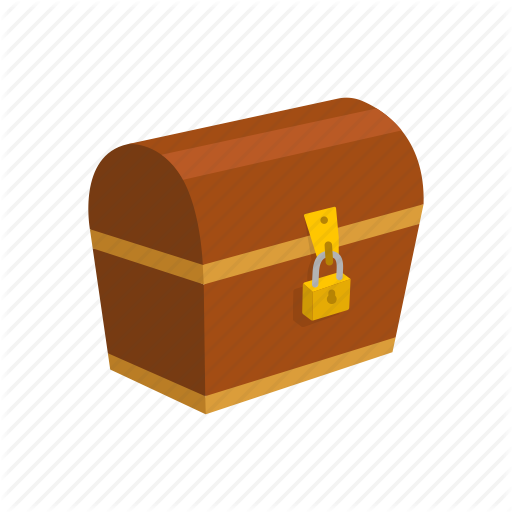 Chest, Locked Chest, Treasure, Treasure Chest Icon