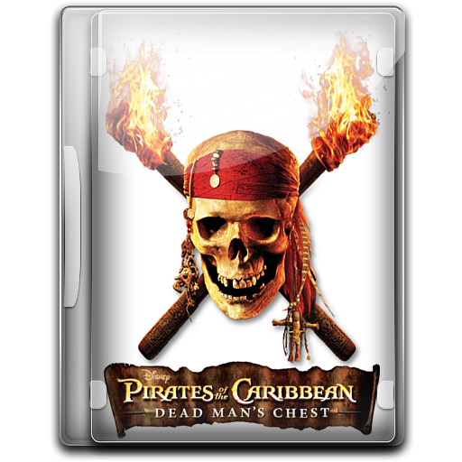 Pirates Of The Caribbean Dead Mans Chest Icon English Movies