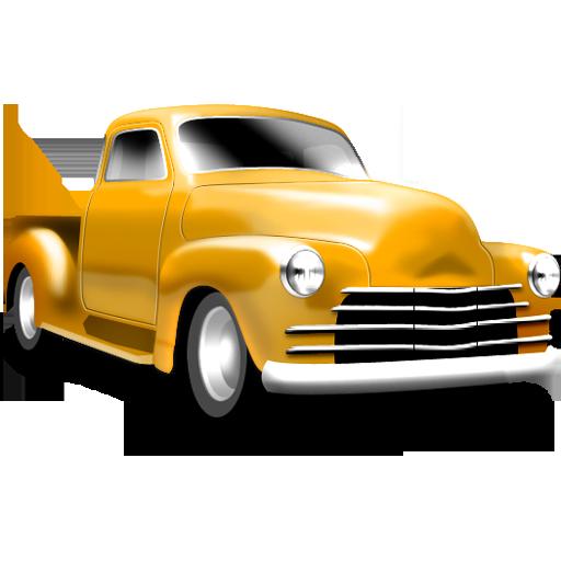 Yellow Chevrolet Icon