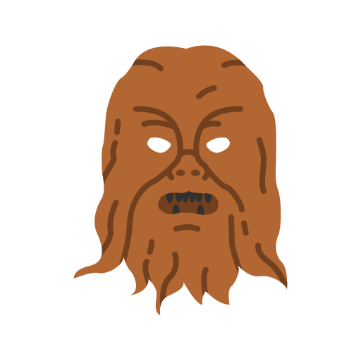 Chewbacca, Han Solo, Star Wars, Wookie Icon