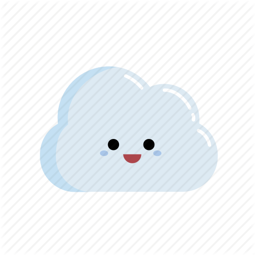 Cheerful, Cheery, Chibi, Cloud, Facial Expression, Happy, Merry