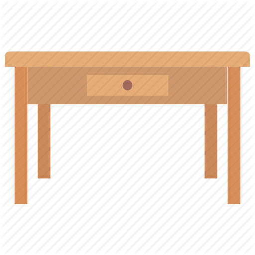 Bureau Desk, Shabby Chic, Study Desk, Writing Desk, Writing Table Icon