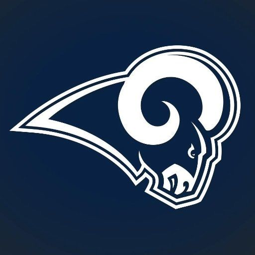 Go Rams Los Angeles Rams Sports Logo, La