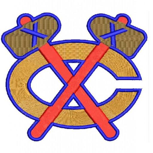 Chicago Blackhawks Logo Embroidery Designs