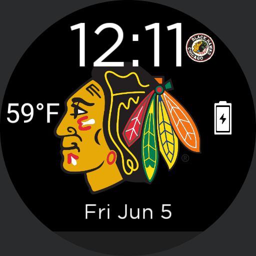 Chicago Blackhawks Logo For Moto
