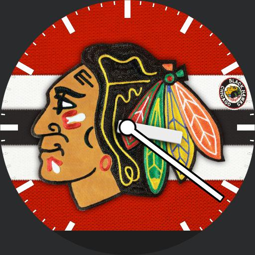 Chicago Blackhawks Logo Patch For Moto