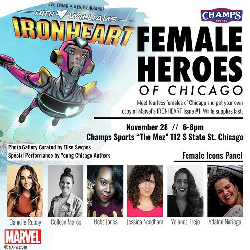 Female Heroes Of Chicago Panel Photo Gallery These Days
