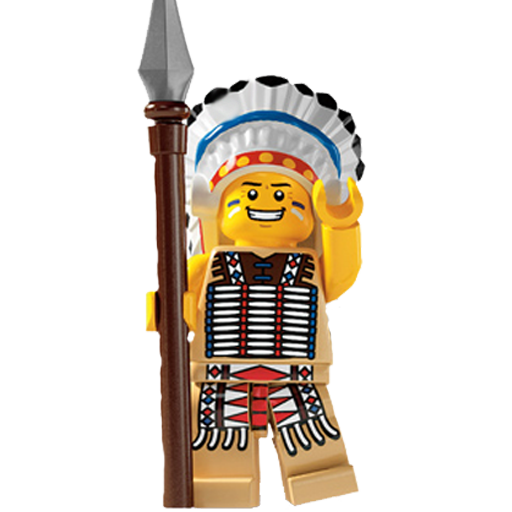 Chief, Lego Icon