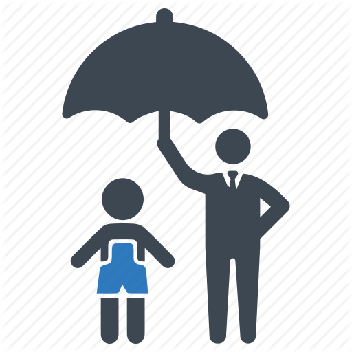 Child, Insurance, Protection Icon