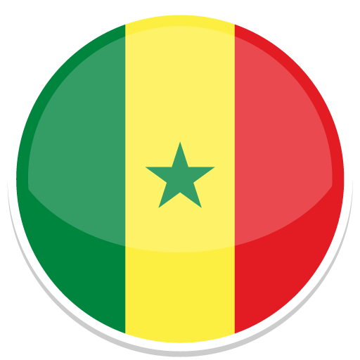 Senegal, Flag, Flags Icon Free Of Round World Flags Icons