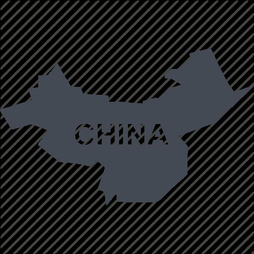 China, Map Of China, Republic Icon