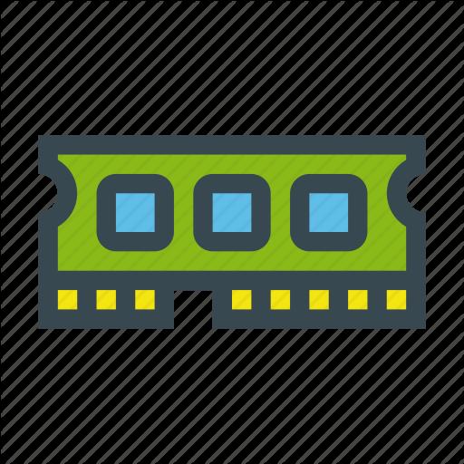 Chip, Hardware, Memory, Ram, Stick Icon