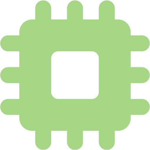 Guacamole Green Chip Icon
