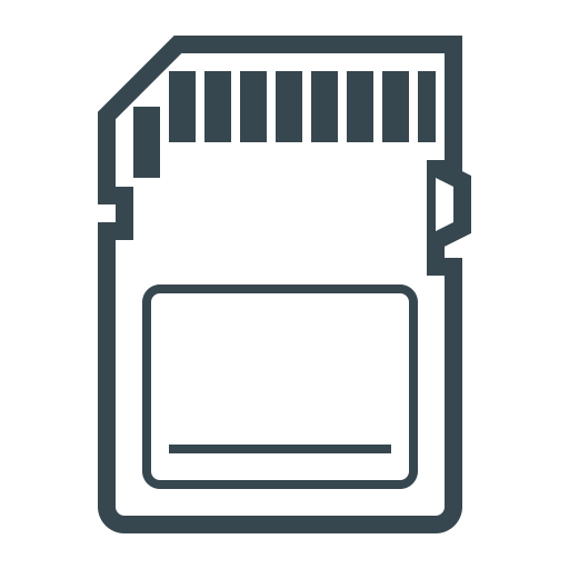 Ssd Memory Card, Chip, Card Icon