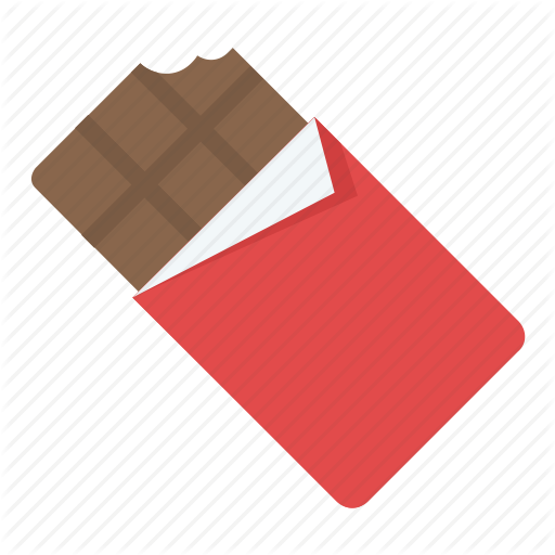 Chocolate, Chocolate Bar, Chocolate Bar Bite, Dessert, Sweet Icon