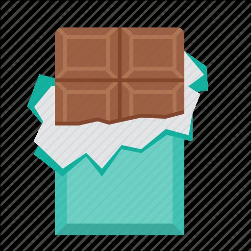 Chocolate, Chocolate Bar, Food Icon