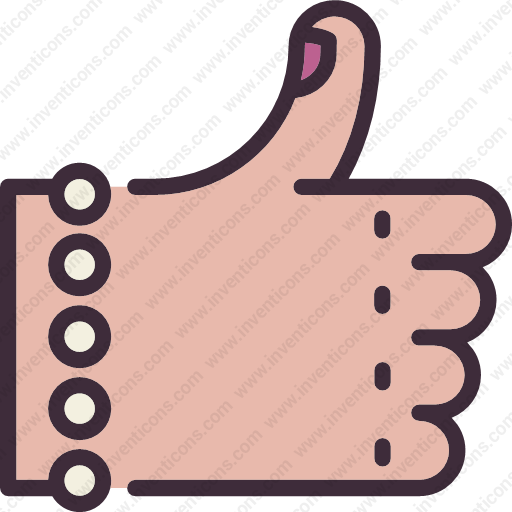 Download Choose,female,who,likes,thumb,gesture Icon Inventicons