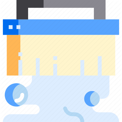 Brush, Clean, Cleaning, Hygiene, Toilet Icon