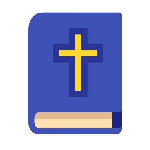 Holy Bible, Fill, Multicolor Icon With Png And Vector Format