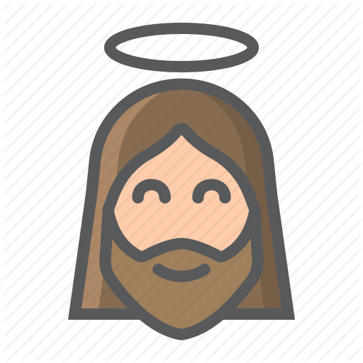 Bible, Christ, Christian, Church, Face, God, Jesus Icon