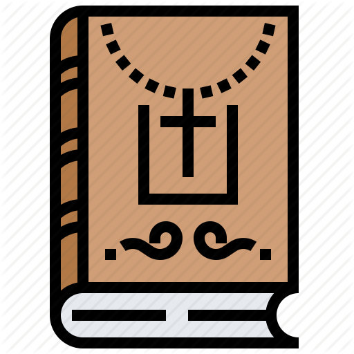 Bible, Christian, God, Holy, Scripture, Textbook, Writing Icon