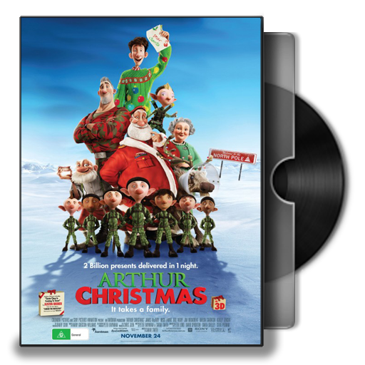 Arthur Christmas Folder Icon