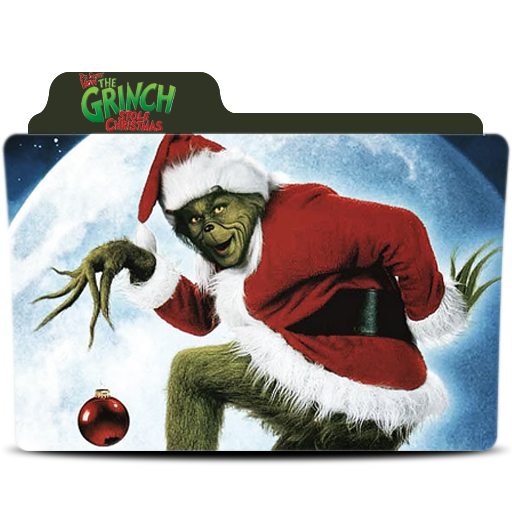 How The Grinch Stole Christmas Folder Icon
