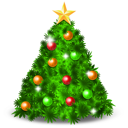 Christmas Tree Icons No Attribution