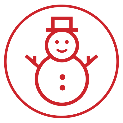 Snowman Icon Christmas Iconset Flyinghearts Design
