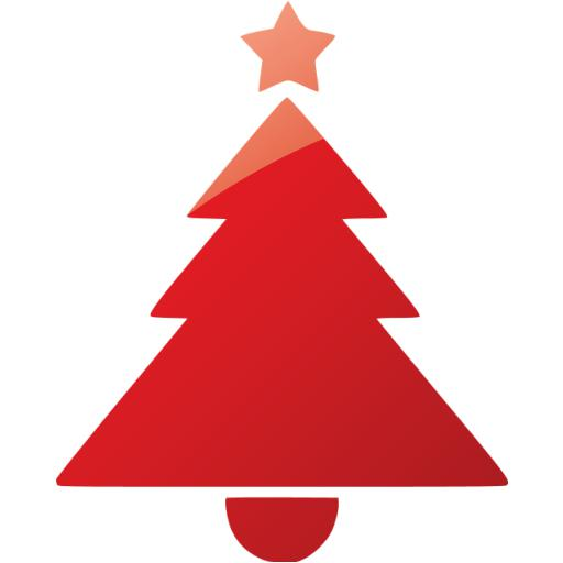 Web Ruby Red Christmas Icon