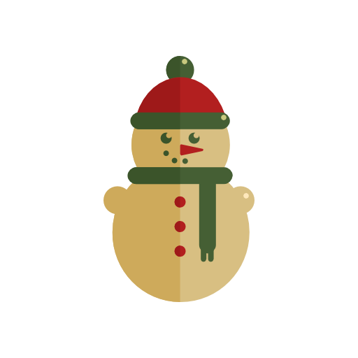 Snowman, Christmas Icon Free Of Christmas Icons In Flat