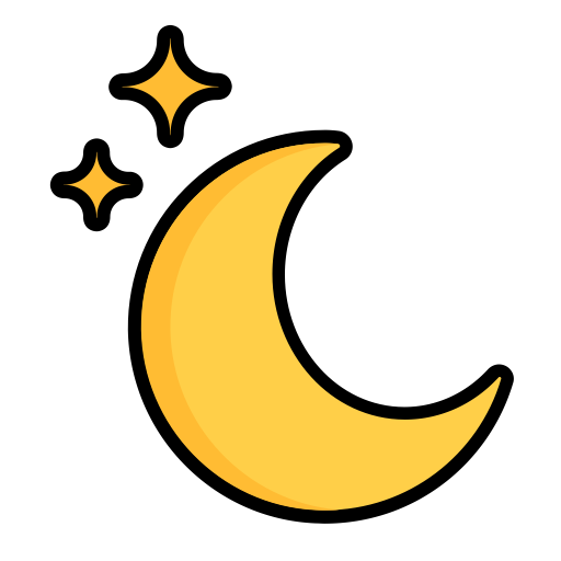 Christmas, Cynthia, Holiday, Moon, Night, Selene, Star Icon