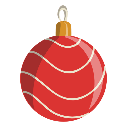 Christmas Ball Cartoon Icon