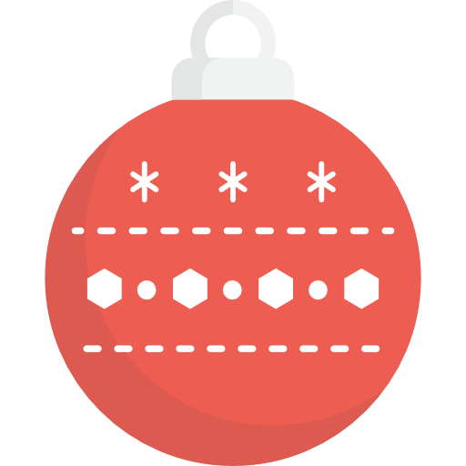 Christmas, Ornament, Xmas, Decoration, Bauble Icon