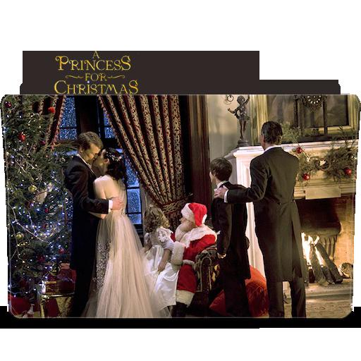 A Princess For Christmas Folder Icon