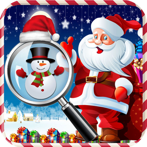 Free Hidden Objects Best Christmas Party