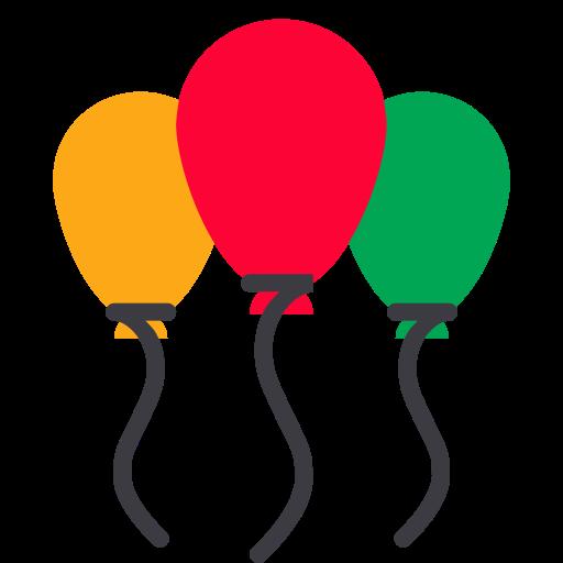 Balloon, Decoration, Christmas, Xmas, Celebration, Party Icon