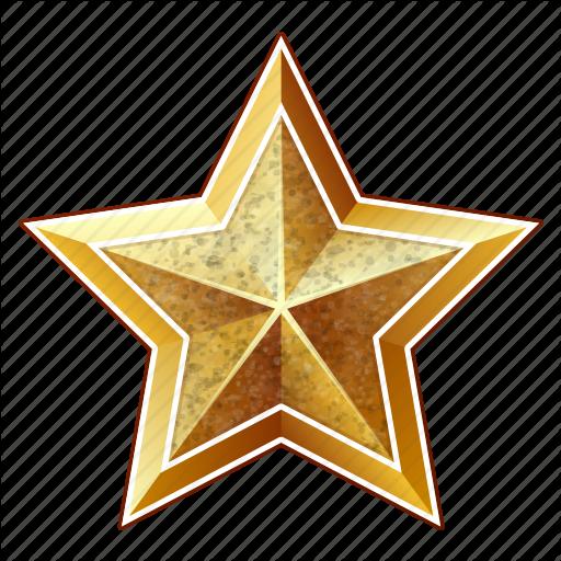 Celebration, Christmas, Golden, Holiday, New Year, Star, Xmas Icon