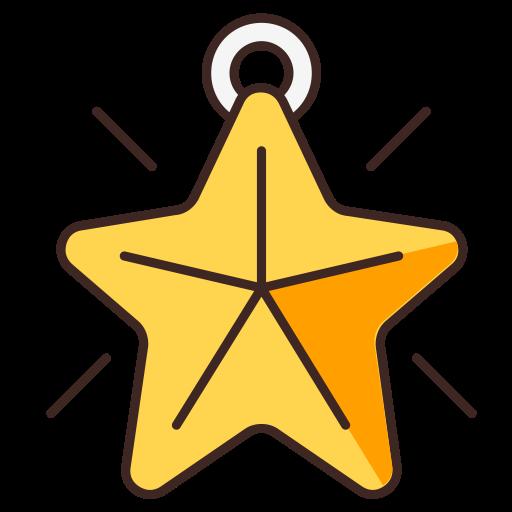 Christmas, Christmas Tree, Star Icon