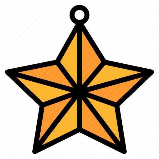 Christmas, Decorate, Favorite, Rate, Star Icon