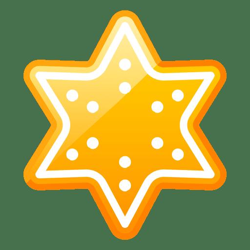 Shiny Christmas Star Icon