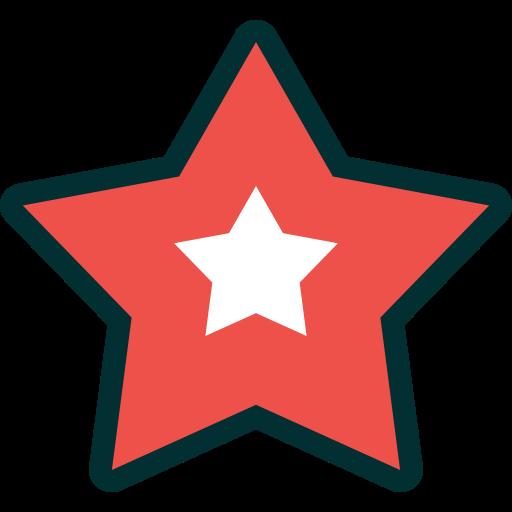 Xmas, Decoration, Christmas, Star Icon