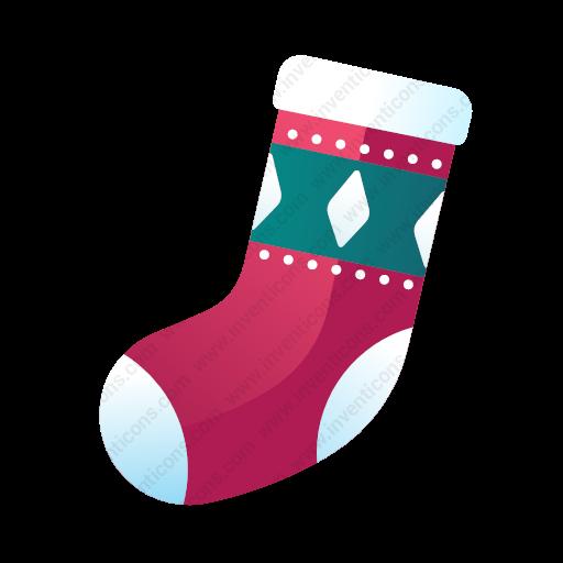 Download Christmas,socks Icon Inventicons