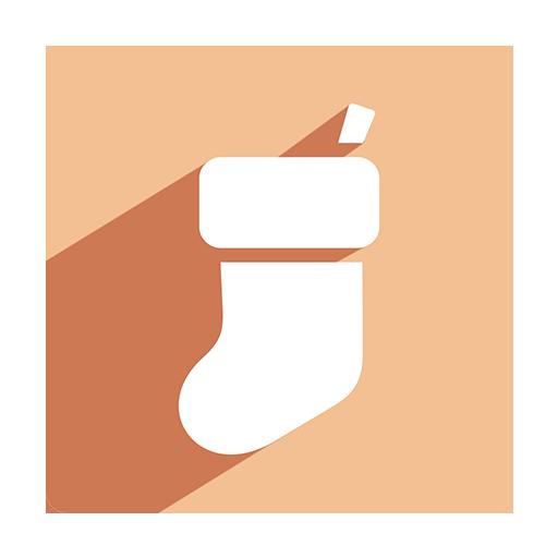Stockings Icon Christmas Shadow Iconset Pelfusion