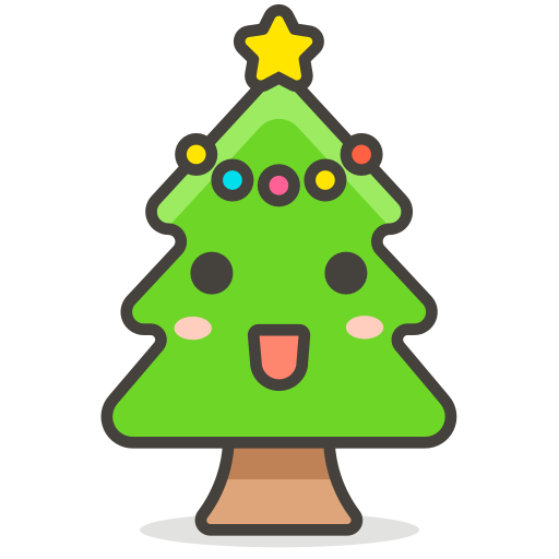 Christmas, Tree Icon Free Of Free Vector Emoji