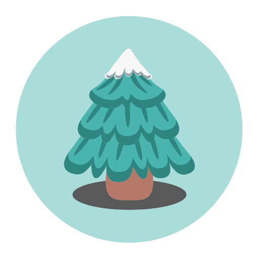Christmas Tree, Fill, Multicolor Icon Png And Vector For Free