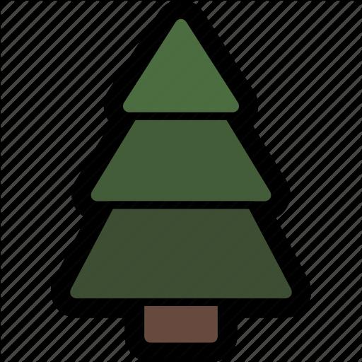 Christmas, Christmas Tree, Fir, Fir Tree, Pine, Pine Tree, Tree Icon