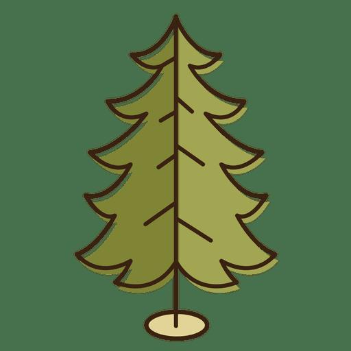 Christmas Tree Cartoon Decoration