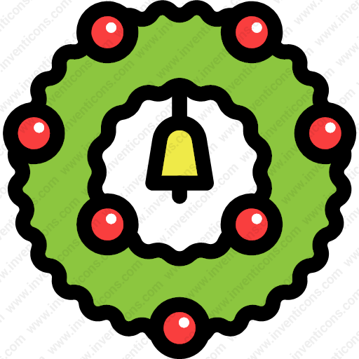 Download Christmas,christmas,wreath,decoration Icon Inventicons