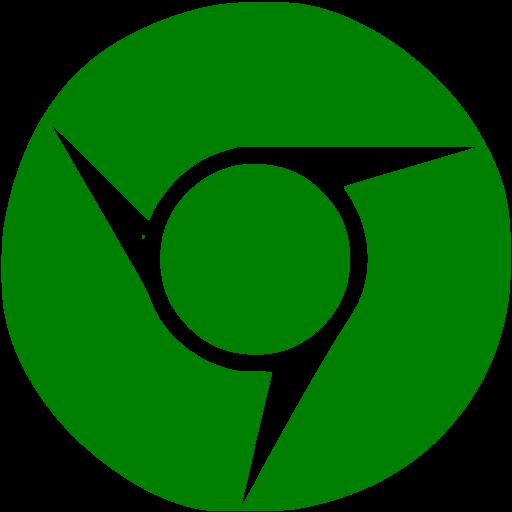 Green Chrome Icon